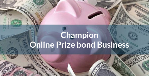 Champion - Bitcoin Based Prize Bond  System