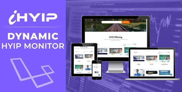 iHYIP - Hyip Monitor & Listing Platform