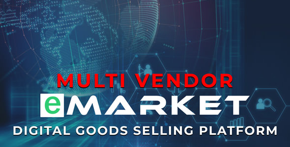 eMarket - Digital Goods Selling Platform