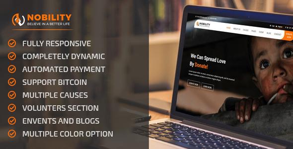 Nobility - Crowdfunding Startup Platform