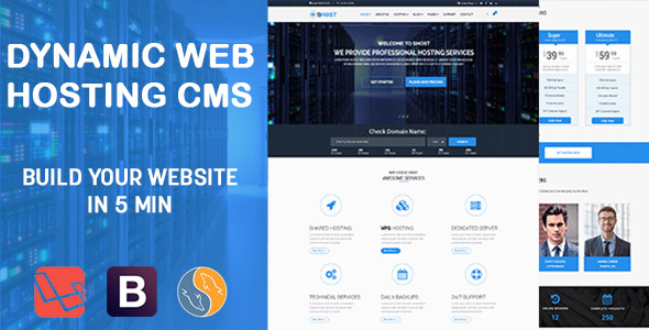 sHOST - Dynamic WebHosting Business Template