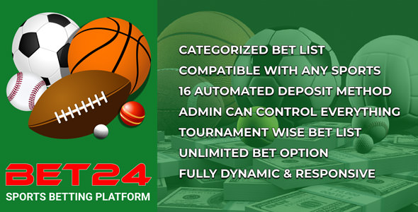 BET24 - Sports Betting Platform