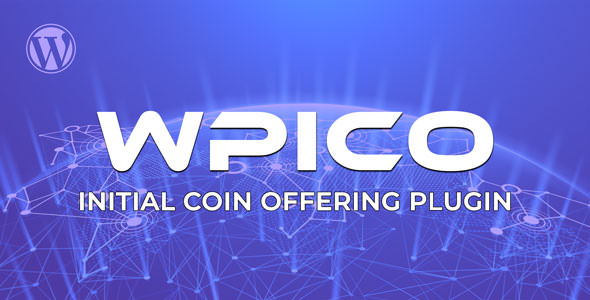 WPICO - Initial Coin Offering Wordpress Plugin