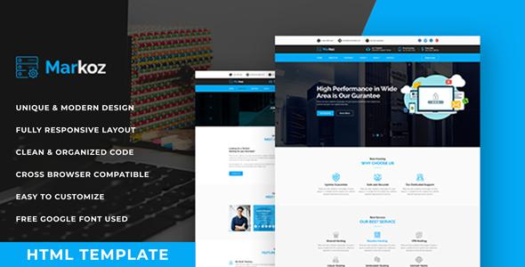 MarKoz - Web Hosting HTML Template