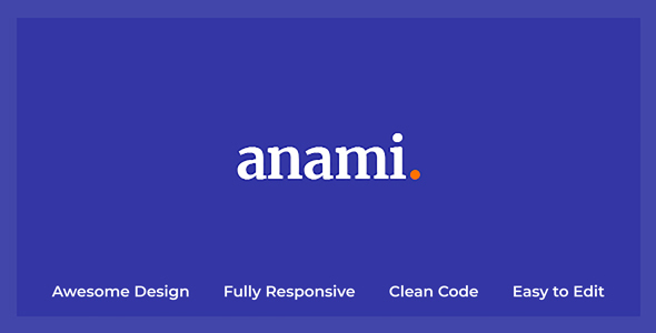 Anami - Creative Agency HTML Templates