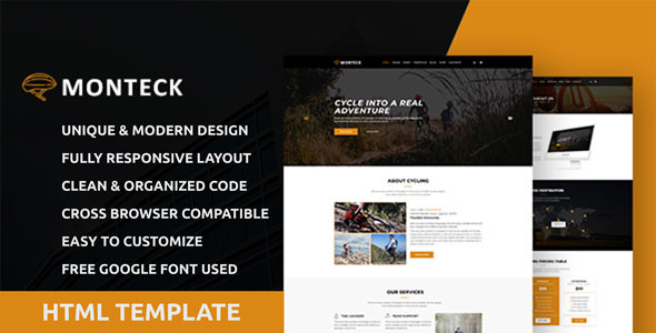 Monteck - Sports Club HTML Template