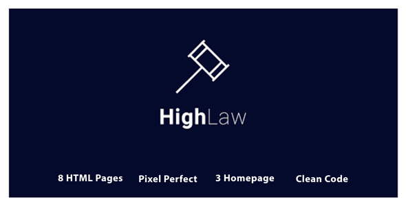 HighLaw Law Firm - Attorney HTML5 Templates