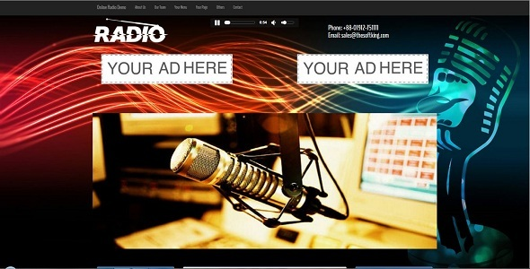 Streamo - Online Radio And Tv Streaming CMS
