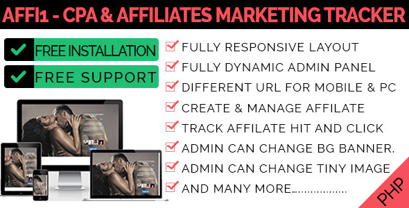 Affi1 - CPA & Affiliates Marketing Tracker
