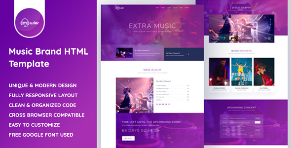 Musier - Music HTML Template