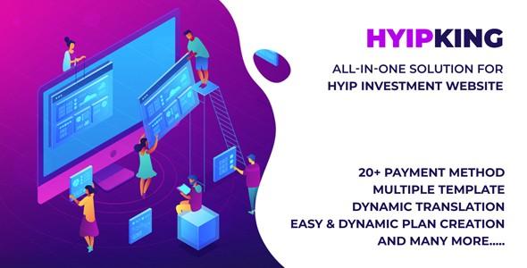 HYIPKING - Complete HYIP Investment System