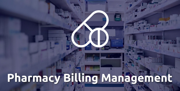 Pharma - Pharmacy Billing Management