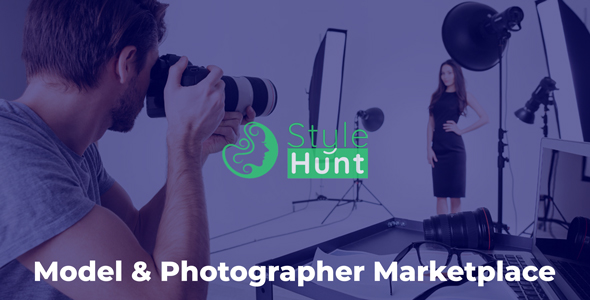 StyleHunt - Model & Photographer Marketplace