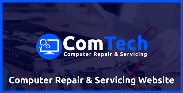 ComTech - Computer Repair & Servicing Website