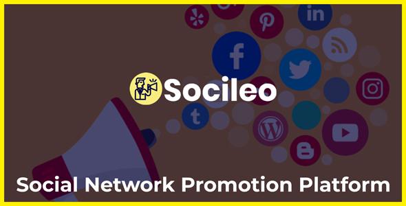Socileo - Social Network Promotion Platform