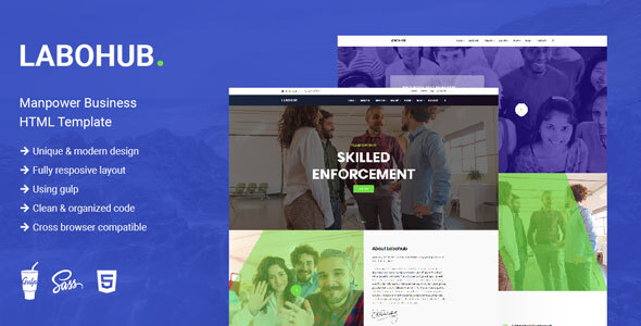 LaboHub - Manpower Business HTML Template
