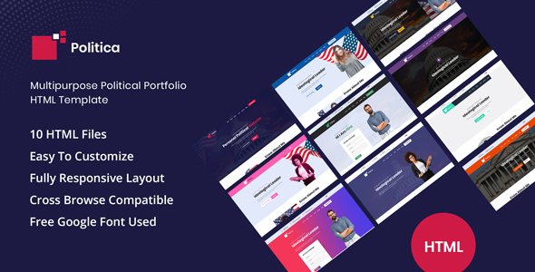 Politica - Multipurpose Political HTML Template